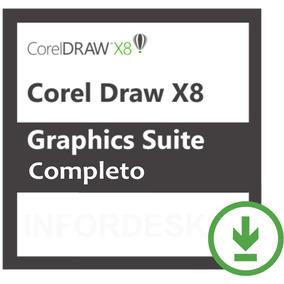 Coreldraw Graphics Suite X8 Versão Completa Oficial Com Nota