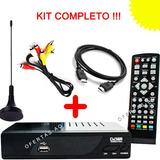 Decodificador Tdt Graba Dvb T2 Colombi Antena Hdmi Rca Usb