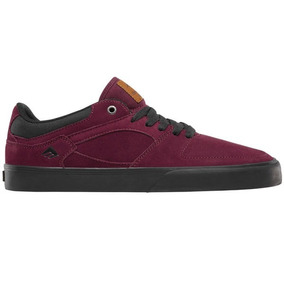Zapatillas Emerica Hsu Low Vulc Burgundy