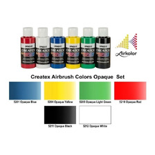 Pintura Para Aerografo Set  Createx Opaque, Textil