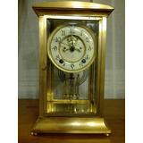 Antiguo Reloj De Sobremesa Con Pendulo Ansonia