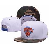 Boné New York Knicks Aba Reta Snapback Lançamento Hip Hop