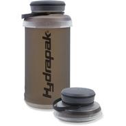 Botella Plegable Hydrapak Stash Flexible 1 Litro, Color Gris