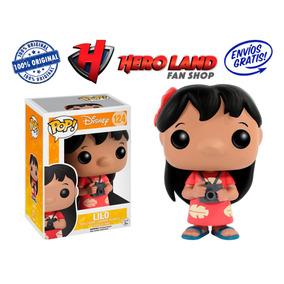 Lilo Funko Pop Lilo Y Stitch Disney Niña Vestido Hawaiano