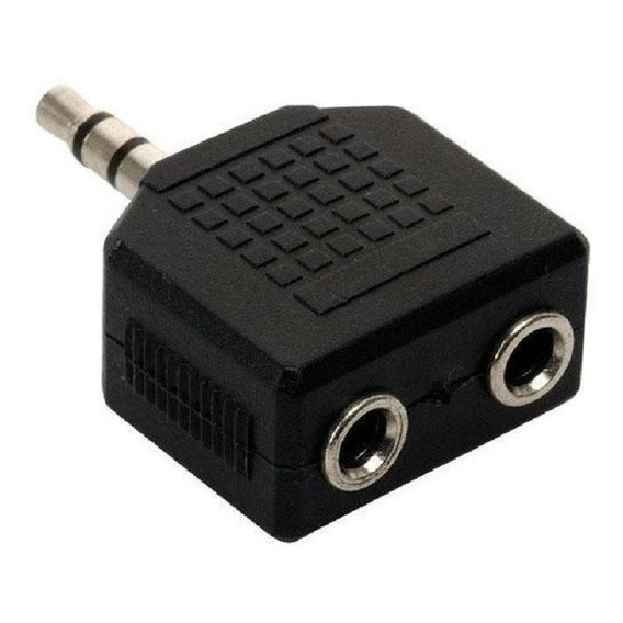 Adaptador Auricular Divisor Doble Salida Auricula
