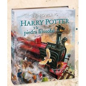 Harry Potter Y La Piedra Filosofal - Ilustrado J. K. Rowling