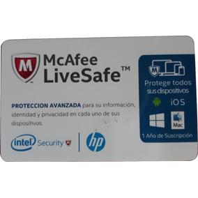 Mcafee Livesafe Protección Avanzada Iphone Android Original