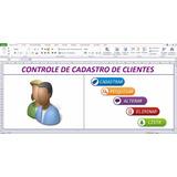 Planilha Controle Cadastro Clientes Com Logotipo - Frete = 0