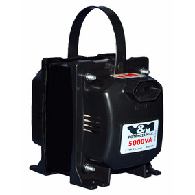 Kit Com 2 Autotransformadores Bivolt Loja V&m 5000va