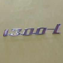 Emblema 1300l Em Aluminio Cromado Do Fusca