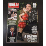 Revista Hola Colombia J Balvin Diciembre 2016