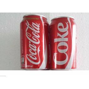 Latinhas Da Coca-cola - Com Idiomas - Inglês E Português