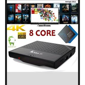 Android Tv Box Octa Core 1bg ,8gb + Teclado Retro Iluminado