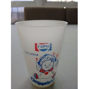 Copo Trapalhões Promocional Pepsi Zacarias