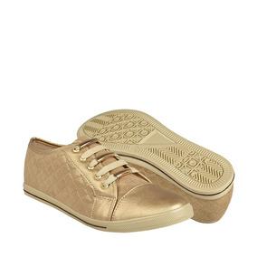 Stylo Zapatos Dama Casuales 853 22-26 Simipiel Oro