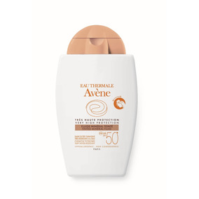 Avene Solar Fps50+ Fluido Mineral Color Piel Sensible 40ml