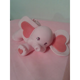 Elefantita En Porcelana Fría Para Decoración De Torta