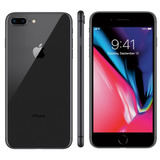Apple Iphone 8 Plus 64gb Tela Retina 5,5 Cinza Espacial