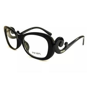 a1fe41cd8456c Óculos De Grau Acetato Prada Vpr 05n Promoção - Óculos con Mercado ...