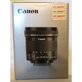 Lente Canon 10-18 Mm Is Stm