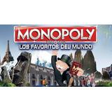 Monopoly Los Favoritos Del Mundo. Hasbro. Envio Gratis