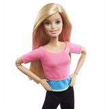 Barbie Movimientos Divertidos Muñeca Flexible Para Ejercicio