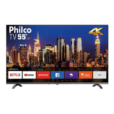 Smart Tv Philco Ptv55q20snbl Dled 4k 55