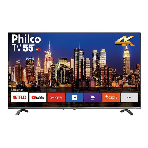 Smart TV Philco PTV55Q20SNBL DLED 4K 55""