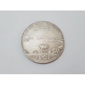 Medalha Antiga E.f São Paulo A Rio Grande 1906