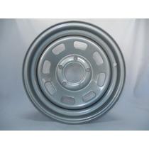 Roda F-1000 Mod. Quadrado Cinza/prata 16x6 5 Furos (1.9)