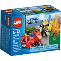 Lego City 60000 Moto De Bomberos 40 Pzs