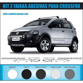 Adesivo Faixa Raposa Carro Vw Crossfox Frete Grátis Fox 2009