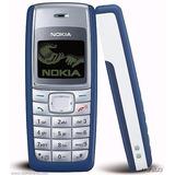 Kit 5 Peças Nokia 1110 Azul Novo Celular Bom P Idoso Barato