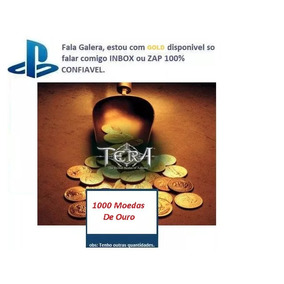Tera Online Ps4 Psn 5k Gold Todos Os Servidores