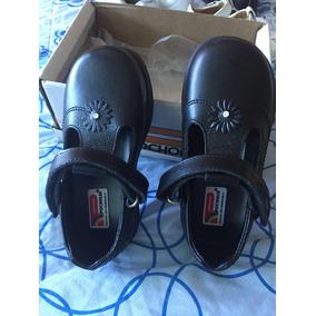 Zapatos Escolar Pocholin Talla 24