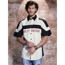 Harley Davidson - Camisa Masculina 100% Algodão - Hd