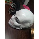 Mascara Latex Alien Terror Obras Disfraz Ovni Horror Broma