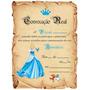 Festa Cinderela - Convite Aniversário C/80