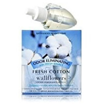 Kit Com 2 Refis Wallflowers Refil Fresh Cotton