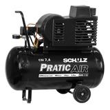 Compressor De Ar 7,4 Pes 50 Litros Bivolt C/rodas Csi Schulz