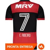 Camisa adidas Flamengo 2017 Masculina - Nº7 Everton Ribeiro