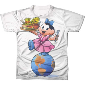 cd1b6a6ef Blusa Da Magali - Camisetas no Mercado Livre Brasil