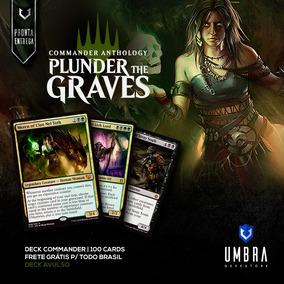 Deck Plunder The Graves Do Commander Anthology + Deck Box