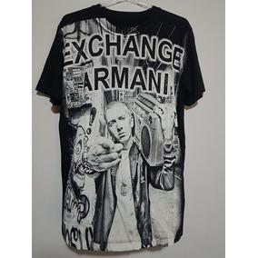 Camiseta Armani Exchange Importada - Diversas Estampas