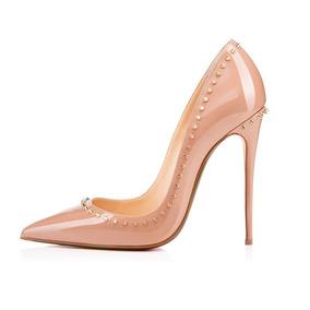 f863cfef6 Sapatos Femininos Numeração Grande - Scarpins para Feminino Nude no ...