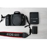 Camara Profesional Canon Eos 60d Buen Estado Poco Uso