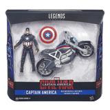 Marvel Legends Civil War Capitão América - Brinquetoys