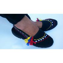 Alpargatas, Cocuiza, Calzado, Zapatos Decorados Bandera