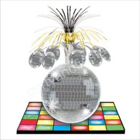 Centro Mesa Disco Ball Articulos Fiesta Animacion