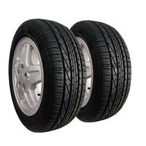 Kit 2 Pneu 195/55 R15 Remold Gw Tyre Goodyear 5anos Garantia
